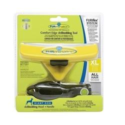 Furminator FURflex фурминатор-комбо против линьки XL, для собак гигантских пород