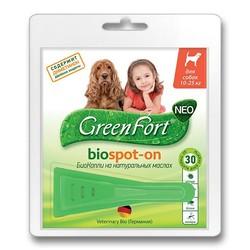 Green Fort Neo БиоКапли для собак 10-25 кг, 1 пипетка