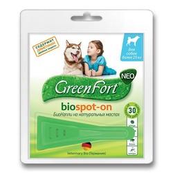 Green Fort Neo БиоКапли для собак более 25 кг, 1 пипетка