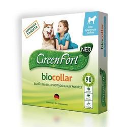 Green Fort Neo Биоошейник для собак крупных пород, 75 см