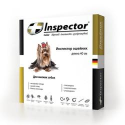 Inspector ошейник для мелких пород собак от внешних и внутренних паразитов, длина 40 см
