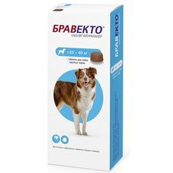 Intervet Бравекто жевательная таблетка от блох и клещей для собак 20-40кг 1000мг