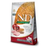 FARMINA N&D LG низкозерновой корм для собак крупных пород Курица с Гранатом (N&D Low Grain Chicken & Pomegranate Adult)