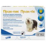 Elanco Прак-тик Капли на холку от блох, вшей, власоедов, иксодовых клещей для собак 22-50 кг (3 пипетки)