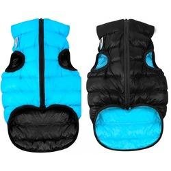 AiryVest куртка двухсторонняя для собак (Collar), цвет черно-голубой