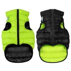 AiryVest куртка двухсторонняя для собак (Collar), цвет салатово-черный