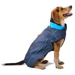 Нано плащ-дождевик с флисовой подкладкой «Nanobraker» Dog Gone Smart, синий