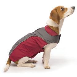 СКИДКА! Демисезонная нано куртка NanoBreaker Jacket Dog Gone Smart, красный с серым