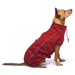 Флисовая куртка Olympia Softshell (Puffy) Dog Gone Smart , цвет красный