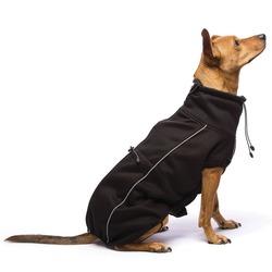СКИДКА! Флисовая куртка Olympia Softshell (Puffy) Dog Gone Smart , цвет черный