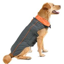 Нано куртка зимняя «Trailblazer» Dog Gone Smart , цвет серый с оранжевым