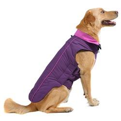 Нано куртка зимняя «Trailblazer» Dog Gone Smart , цвет фиолетовый с малиновым