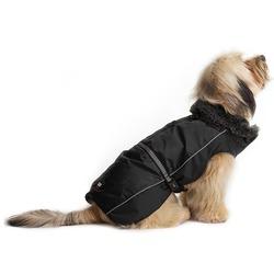 Нано куртка зимняя с меховым воротником «Aspen Parka» Dog Gone Smart, черная