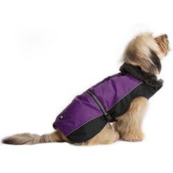 Нано куртка зимняя с меховым воротником «Aspen Parka» Dog Gone Smart, фиолетовая