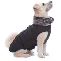 Куртка зимняя с меховым воротником Tamarack Jacket (Puffy) Dog Gone Smart, цвет черный