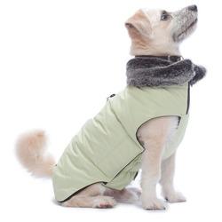 Куртка зимняя с меховым воротником Tamarack Jacket (Puffy) Dog Gone Smart, цвет лайм