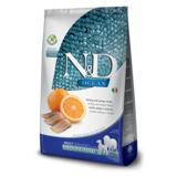 FARMINA N&D OCEAN беззерновой корм для собак всех пород Рыба с Апельсином (N&D Fish & Orange Adult)