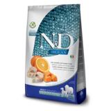 FARMINA N&D беззерновой корм для собак средних и крупных пород Треска с Апельсином и Тыквой медиум и макси (N&D Dog GF Pumpkin Codfish & Orange Adult Medium & Maxi)