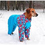 Osso зимний комбинезон для собак на синтепоне, для сук (разные цвета)