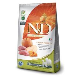 FARMINA N&D беззерновой корм для взрослых собак средних и крупных пород Кабан с Яблоком и Тыквой медиум и макси (N&D Dog GF Pumpkin Boar & Apple Adult Medium & Maxi)