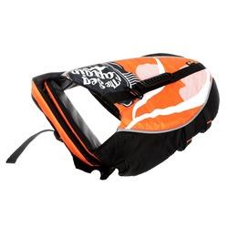Скидка! Спасательный жилет для собак (жилет для плавания) Crazy Paws, цвет оранжевый, размер S