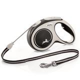 Flexi New Comfort S, рулетка 5м, трос, для собак до 12 кг