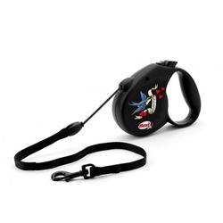 Flexi RockStar Freedom рулетка для собак, 5 м до 20 кг, трос
