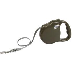 "Freego рулетка ""Элеганс"", 5 м, лента, для собак до 41 кг, коричневая"