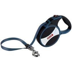 KONG рулетка Explore L, лента 7.5 м для собак до 50 кг, цвет синий