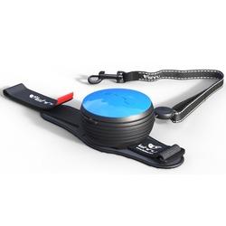 СКИДКА 25%! Lishinu Original поводок-рулетка для собак весом 6-30 кг, длина 3 м, цвет голубой
