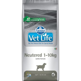 FARMINA Vet Life Dog Neutered 1-10 kg полнорационная диета для стерилизованных собак весом до 10кг