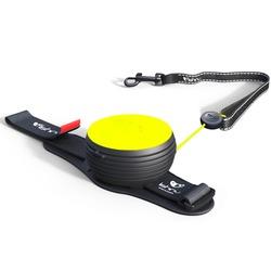 СКИДКА 25%! Lishinu Original NEON поводок-рулетка для собак весом 6-30 кг, длина 3 м, цвет желтый неон