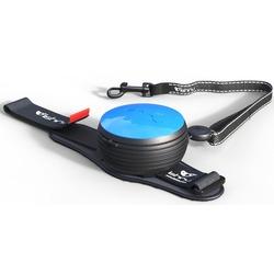 СКИДКА 25%! Lishinu Light Lock поводок-рулетка для мелких пород собак до 6 кг, 3 метра, цвет голубой