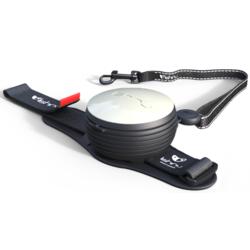 СКИДКА 25%! Lishinu Light Lock поводок-рулетка для мелких пород собак до 6 кг, 3 метра, цвет белый