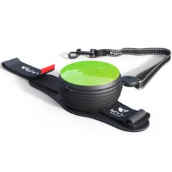 СКИДКА 25%! Lishinu Light Lock поводок-рулетка для мелких пород собак до 6 кг, 3 метра, цвет зеленый