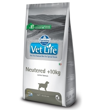 FARMINA Vet Life Dog Neutered 10+ kg полнорационная диета для стерилизованных собак весом более 10кг