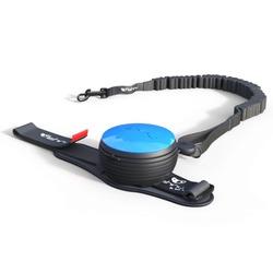 """СКИДКА 25%! Lishinu Bungee поводок-рулетка для сильных собак, которые любят """"тянуть"""" 3 м 6-30 кг, цвет голубой"""