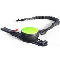 """СКИДКА 25%! Lishinu Bungee поводок-рулетка для сильных собак, которые любят """"тянуть"""" 3 м 6-30 кг, цвет зеленый"""