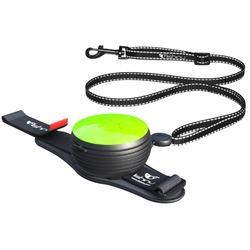 СКИДКА 25%! Lishinu 3 in 1 поводок-рулетка для собак весом от 6 кг до 30 кг, 3 метра, цвет зеленый