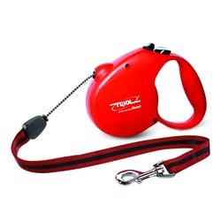 Triol by Frexi Поводок-рулетка L 5м до 50кг Standard RED, трос, арт.FDL006