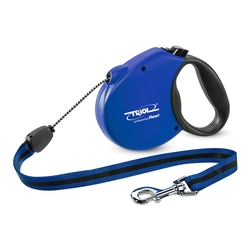 Triol by Frexi Поводок-рулетка S 5м до 12кг Standard Soft Blue, трос, арт.FDL007