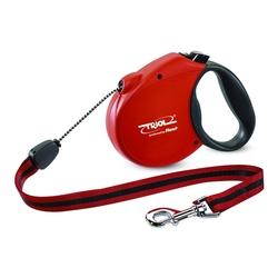 Triol by Frexi Поводок-рулетка М 5м до 20кг Standard Soft Red, трос, арт.FDL010