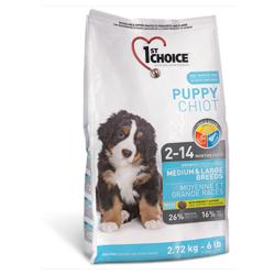 1st Choice для щенков средних и крупных пород (Puppy Medium&Large Breeds)