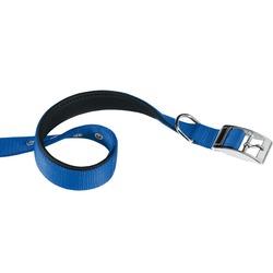 Ferplast ошейник DAYTONA с мягкой подкладкой, цвет синий
