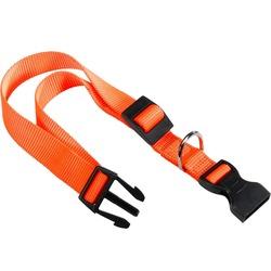 Ferplast ошейник CLUB с пластиковой застежкой, цвет оранжевый