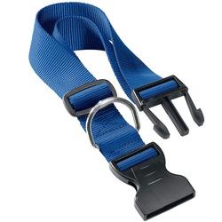 Ferplast ошейник CLUB с пластиковой застежкой, цвет синий