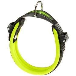 Ferplast ошейник ERGOFLUO с мягкой подкладкой, цвет зеленый