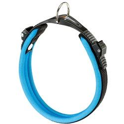 Ferplast ошейник ERGOFLUO с мягкой подкладкой, цвет синий