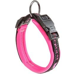 Ferplast ошейник SPORT DOG с мягкой подкладкой, цвет розовый