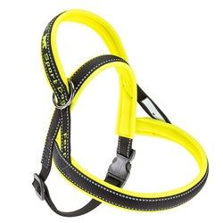 Ferplast шлейка SPORT DOG с мягкой подкладкой, цвет желтый